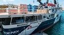 Lékaři bez hranic používají ve Středozemním moři lodě Dignity a Phoenix.