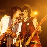 Keith Richards a Ron Wood