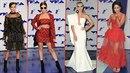 Které celebrity nejvíce zazářily na udílení cen hudební televize MTV?