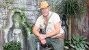 Marek Vašut vypadal jako Indiana Jones.