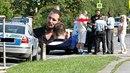 Radim Schwab měl spor s taxikářem. Musela přijet policie.