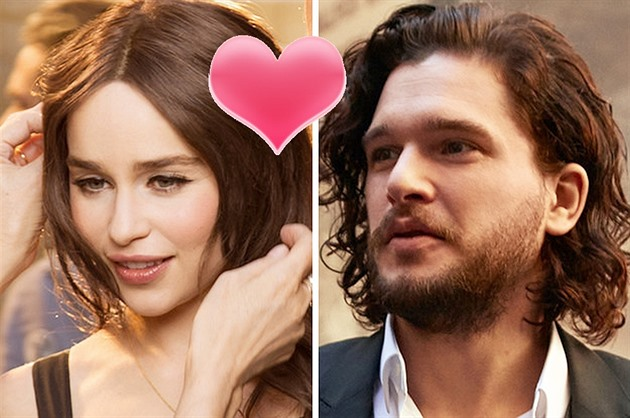 Emilia Clarke / Kit Harrington