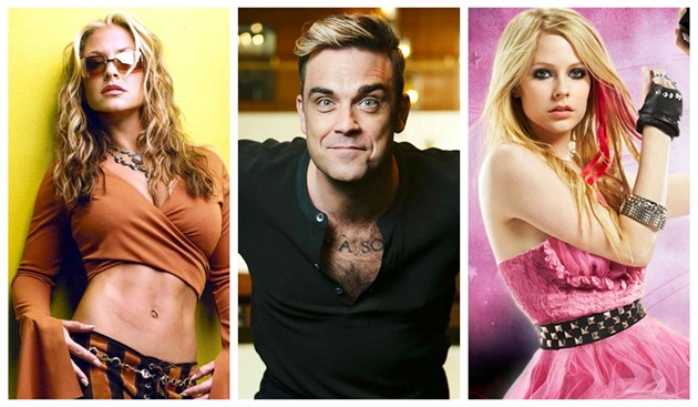 Anastacia / Robbie Williams / Avril Lavigne