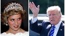 Donald Trump kdysi toužil po princezně Dianě.