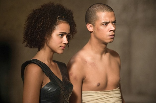 Missandei a Greyworm (Game of Thrones)