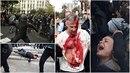 Nepokoje ve španělském Katalánsku