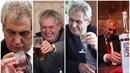 Miloš Zeman má jasno! Pije dál a s chutí.