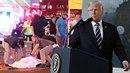 Donald Trump přednesl patetický proslov plný prázdných frází.
