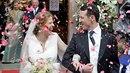 Srbský princ se oženil.