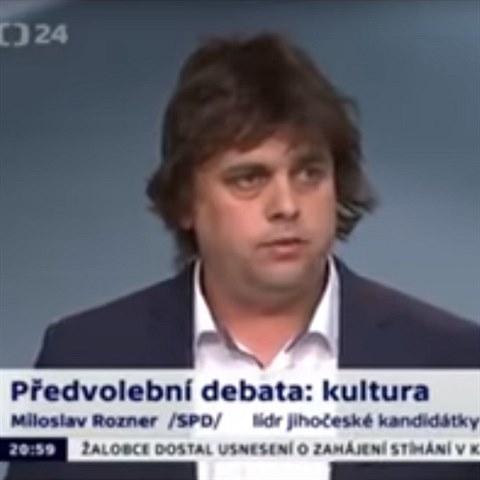 Lídr kandidátky SPD a manažer Argemy v debatě zmateně blábolí. Z toho se  zapotíte! - Expres.cz bc9c17ff1f4