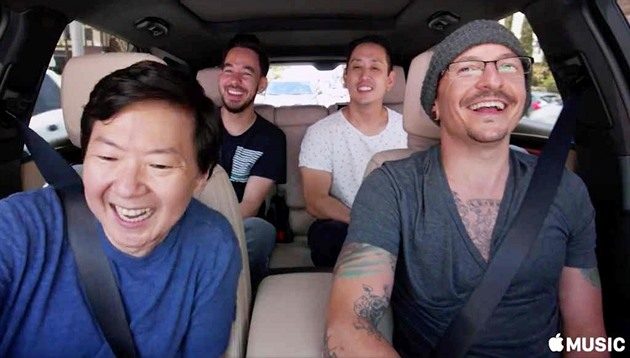 Linkin Park v Carpool Karaoke