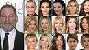 Harvey Weinstein a seznam jeho obětí.