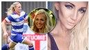 Alexandra Nord, nádherná fotbalistka ze Švédska, se zapojila do celosvětové...