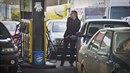 Benzínová pumpa - ilustrační foto
