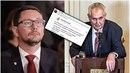 Ovčáček označil status Svatopluka Bartíka za odporné lži.