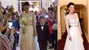 Gabriela Partyšová ve svých svatebních šatech vyrazila o týden později na Ples...
