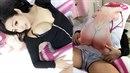 Mizu Uryu v Tokiu představí svůj multifunkční manga polštář.