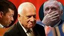 Václav Klaus už se do politiky vracet nechce, ale rád aktuální situaci...