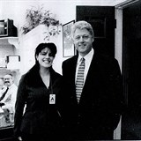 Bill Clinton a Monika Lewinská