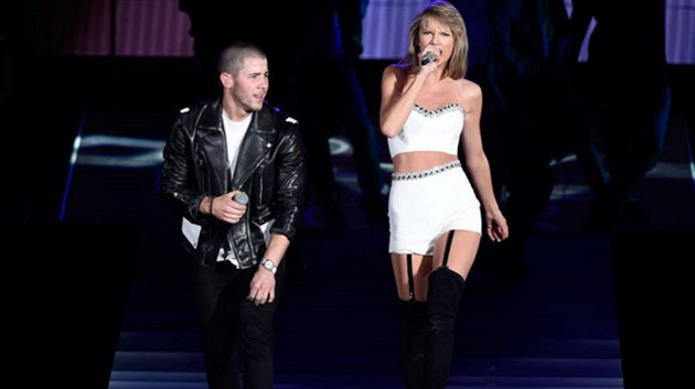 Nick Jonas a Taylor Swift