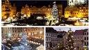 Ve všech velkých českých městech už svítí vánoční stromy.