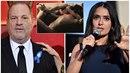 Harvey Weinstein se brání obvinění Salmy Hayek.