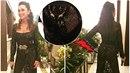 Sisa Sklovská odhalila pozadí v průsvitných šatech.
