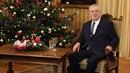Miloš Zeman během vánočního projevu