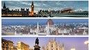 Londýn, Budapešť nebo Milán. Tam všude se lze dostat jen za pár stovek.