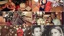 Jak trávily Vánoce české celebrity?