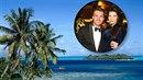 Leoš Mareš s Monikou Koblížkovou tráví dovolenou v tropickém ráji.