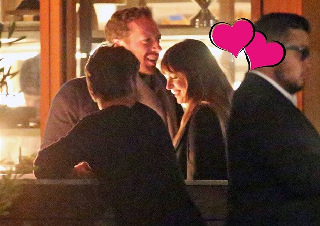 Chris Martin a Dakota Johnson