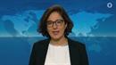 Isabel Schayani pronesla svůj komentář k uprchlické krizi na německé...