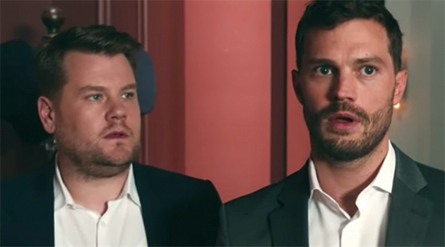 James Corden a Jamie Dornan