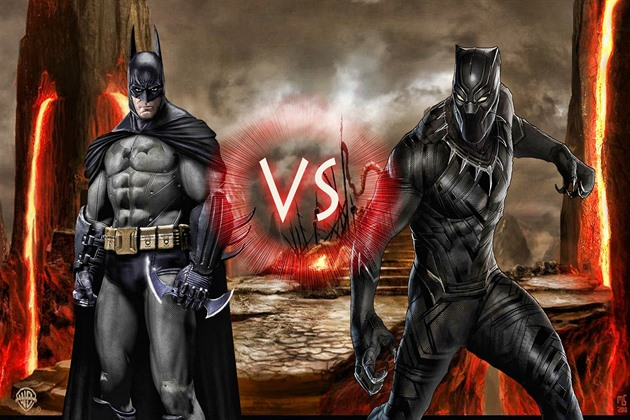 Black Panther versus Batman