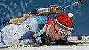 Skvělé! Biatlonista Michal Krčmář má olympijské stříbro.