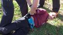 Zadržený útočník Nikolas Cruz.