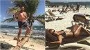 Emanuele a Lucie jsou opět na dovolené.