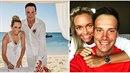 Suchoň si vzal tenistku Koukalovou.
