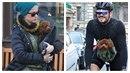 Pes Katy Perry a Orlanda Blooma Mighty se jen nosí, nebo vozí.