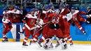 Češi jsou v extázi, na olympiádě postoupili po výhře nad USA do semifinále....
