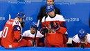 Konec zlatého snu. Hokejisté vypadli v semifinále olympijského turnaje.