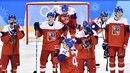 Hokejisté selhali v boji o olympijskou medaili. Padli s Kanadou 4:6.
