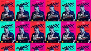 HANK vyráží s Óčkem na PARTY RIDE LIVE tour!