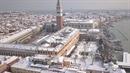 Benátky pokryl sníh a vypadají kouzelně.