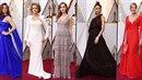 Výběr nejlepších šatů z Oscarů.