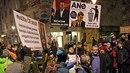 Ostravské ulice ožily demonstranty odmítajícím vzájemnou účelovou spolupráci...