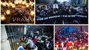 V Bratislavě protestovalo přes 20 tisíc lidí proti vládě premiéra Fica. Po celé...