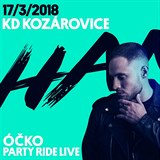 PARTY RIDE LIVE / 17. března 2018, KD Kozárovice, Hank (ATMO music) a jeho crew