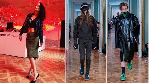 Podivná móda z fashion weeku  Modely s pavouky nechápala ani Agáta ... db9b9dd375